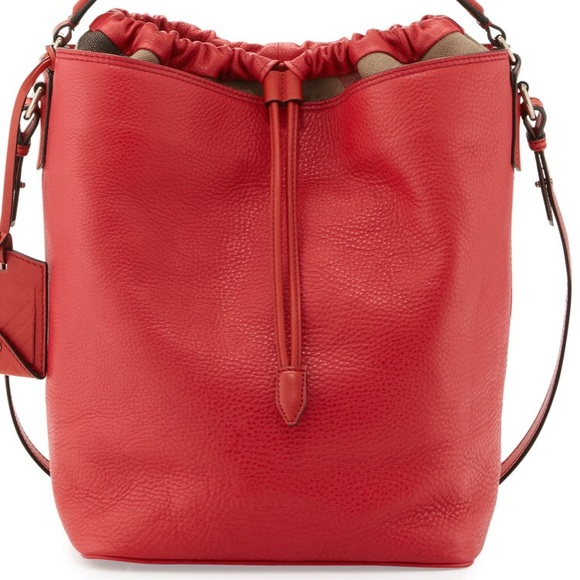 7a943273d4 Burberry Bags   Red Ashby Hobo New   Poshmark